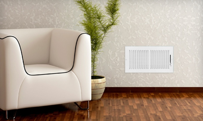 Affordable Air Duct Cleaners - Yorktown: Air-Duct-Cleaning Package for 7 or 12 Vents or Dryer-Vent Cleaning from Affordable Air Duct Cleaners (Up to 68% Off)