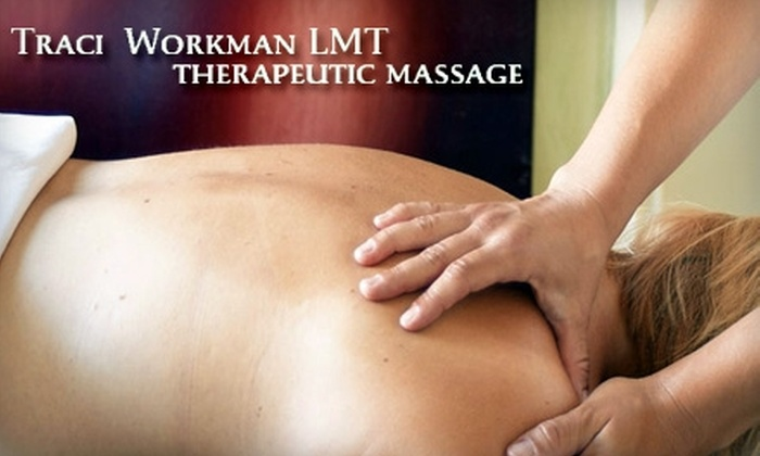 Traci Workman Therapeutic Massage - Bartlett Corporate Park: $35 for One-Hour Swedish Massage from Traci Workman Therapeutic Massage at Rehab Etc. Physical Therapy ($65 Value)