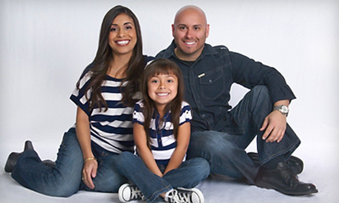 Target Portrait Studio - Airline/Jefferson: $25 for a Lifetouch Portrait Package at Target Portrait Studio (Up to $124.90 Value)
