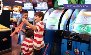 Zone Action Park: Arcade Games for One, Two, or Four, or $20 Game Card at Zone Action Park (Up to 40% Off)
