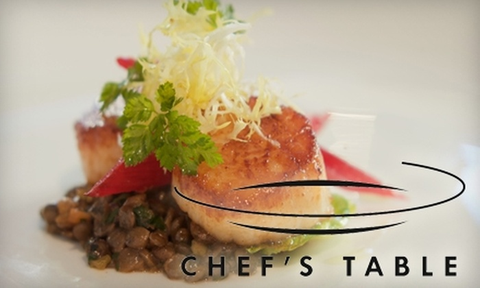 Chef's Table - Hillurst: $25 for $50 Toward Upscale Fare at Chef's Table
