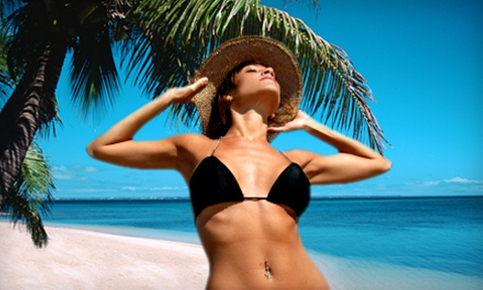 Elegant Tan - Germantown: $99 for Two Months of Level One Tanning, One Massage, and One Body Wrap at Elegant Tan in Germantown (Up to $238 Value)