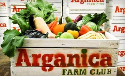 Arganica Farm Club: 1-Month Membership and 1 Produce Box - Arganica Farm Club in