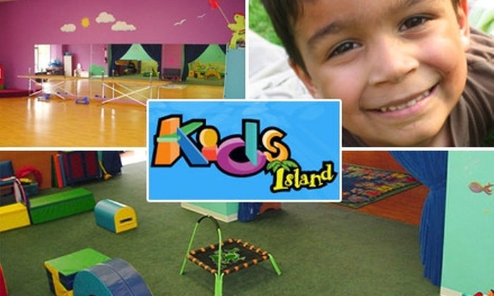 Kids Island - Arcadia: $3 for a Day of Open Play for You and One Child at Kids Island