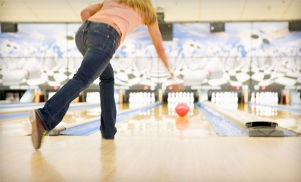Liberty Center: 2 Games of Bowling, Shoe Rental, and a Large Drink For One - Liberty Center in Fredericksburg