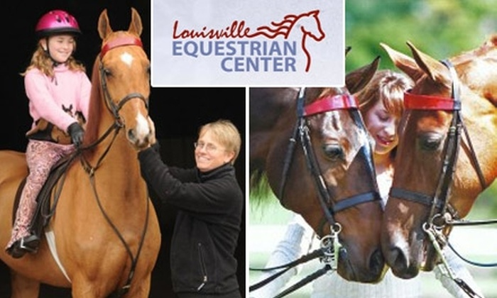 Louisville Equestrian Center - East Louisville: $79 for Three Group Riding Lessons and an Evaluation Lesson at Louisville Equestrian Center ($160 Value)