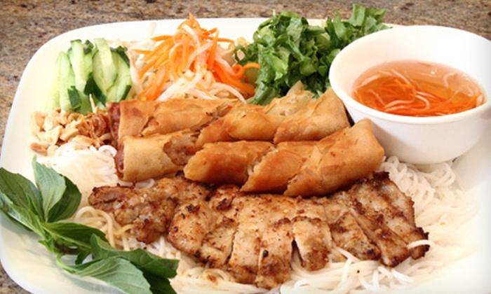 Saigon Pearl - Downtown,Ala Moana: Vietnamese Fare at Saigon Pearl (Up to 54% Off). Two Options Available.