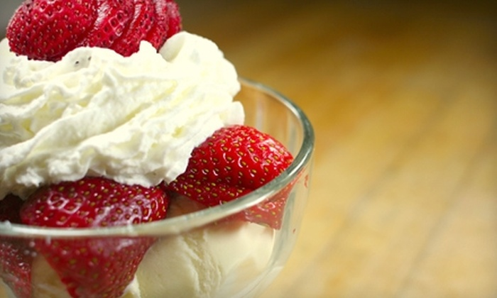 Sports Center Cafe - Wyoming: $10 for $21 Worth of American Fare and Ice Cream at Sports Center Cafe in Wyoming
