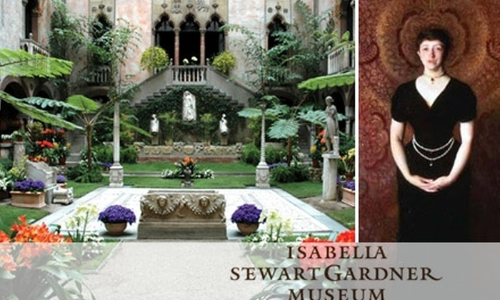 Isabella Stewart Gardner Museum - Fenway/Kenmore: $6 for One General Admission Ticket to the Isabella Stewart Gardner Museum ($12 Value)
