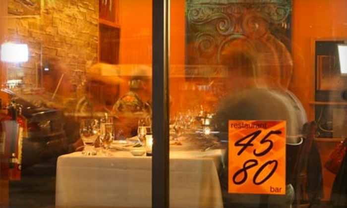 Restaurant 4580 - Wonderland Lake: $15 for $30 Worth of Eclectic American Fare and Drinks at Restaurant 4580 in Boulder