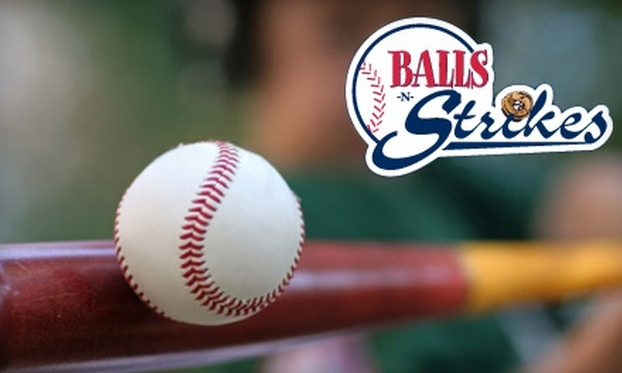 Balls-n-Strikes - Multiple Locations: $40 for an Unlimited Family Batting Cages Pass at Balls-n-Strikes