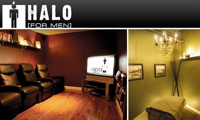 Halo Chicago - Near North Side: $30 for a 50-minute THE RUBB Massage at HALO [FOR MEN]