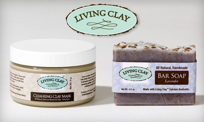 Living Clay Company - Multiple Locations: $25 For a Spa Gift Bag From Living Clay Company ($50 Value)