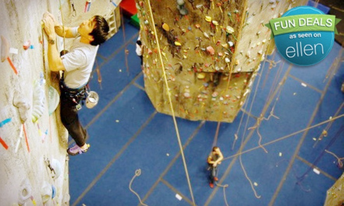 The Rock Club - New Rochelle: Intro-to-Rock-Climbing Class for One, Two, or Four at The Rock Club in New Rochelle (Up to 60% Off)