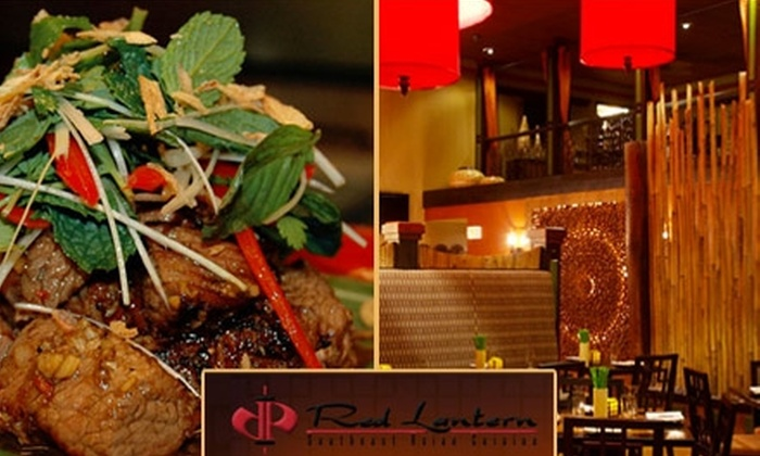 Red Lantern - Centennial: $20 for $45 Worth of Southeast Asian Cuisine at Red Lantern
