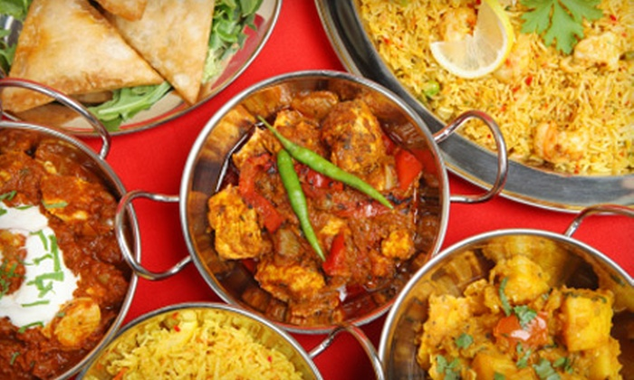 The Curry Club - Multiple Locations: $20 for $40 Worth of Indian Fare at The Curry Club