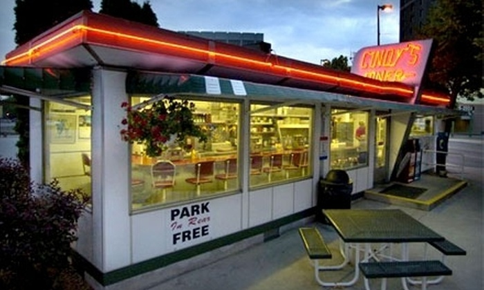 Cindy's Diner - Downtown Fort Wayne: Homestyle Cuisine for Two or Four at Cindy's Diner (Half Off)