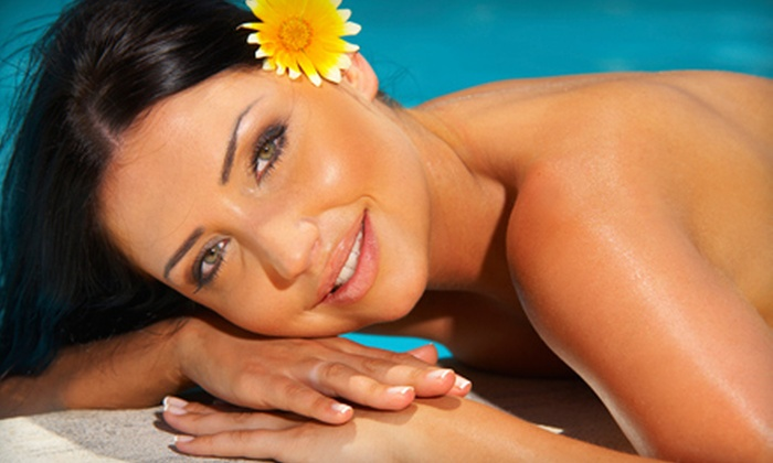Gold Dust Tanning - Broadlands: One Month of Unlimited Tanning-Bed Sessions or Two UV-Free Mystic Tans at Gold Dust Tanning in Broomfield