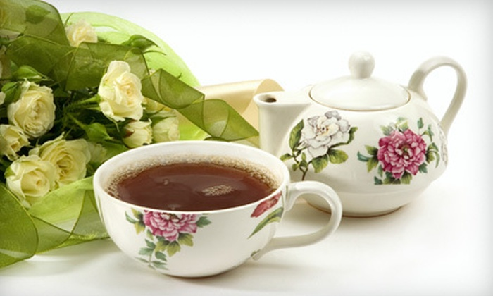 Savannah Tea Company - Germantown: $15 for $30 Worth of Tea, Sandwiches, and Gourmet Desserts at Savannah Tea Company