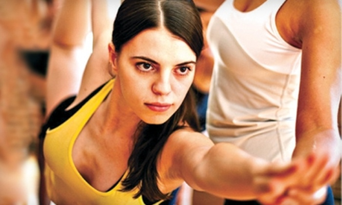 Yoga to the People - University District: $39 for One Month of Unlimited Hot Yoga at Yoga to the People