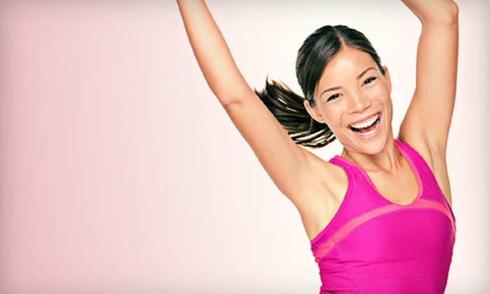 Goals In Motion Fitness Studio - Johnston: 10 or 20 Drop-In Zumba Classes at Goals In Motion Fitness Studio (Up to 79% Off)