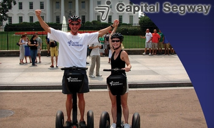 Capital Segway - Downtown - Penn Quarter - Chinatown: $35 for a Two-Hour Segway Sightseeing Tour from Capital Segway (Up to $80 Value)