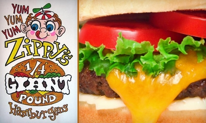 Zippy's Giant Burgers and Fries - Highline: $7 for $15 Worth of Behemoth Chuck Burgers and Fries at Zippy's Giant Burgers and Fries