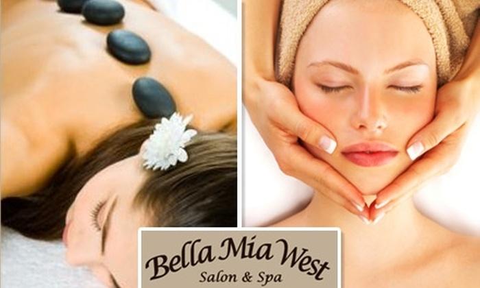 Bella Mia West Salon & Spa - Brecksville: $25 for $50 Worth of Rejuvenating Treatments at Bella Mia West Salon and Spa