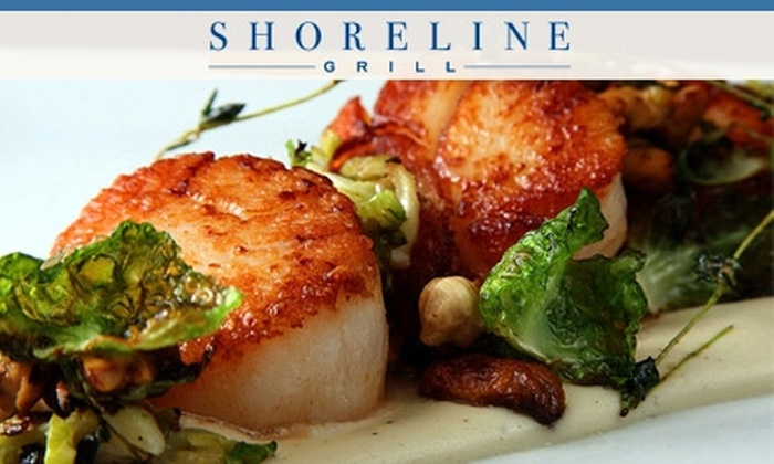 Shoreline Grill - South River City: $12 for $25 of Fresh, Sustainable Seafood at Shoreline Grill