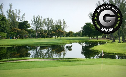 Golf Outing for 2 on a Weekday - Shula's Hotel and Golf Club in Miami Lakes