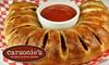 Carsonie's Stromboli and Pizza - Multiple Locations: $8 for $16 Worth Italian Fare at Carsonie's Stromboli & Pizza Kitchen