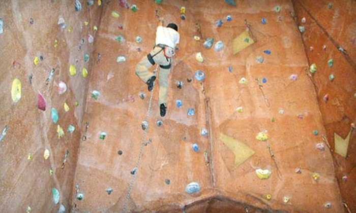 Upper Limits Rock Gym - Downtown St. Louis: Rock-Climbing Pass and Class at Upper Limits Rock Gym. Two Options Available
