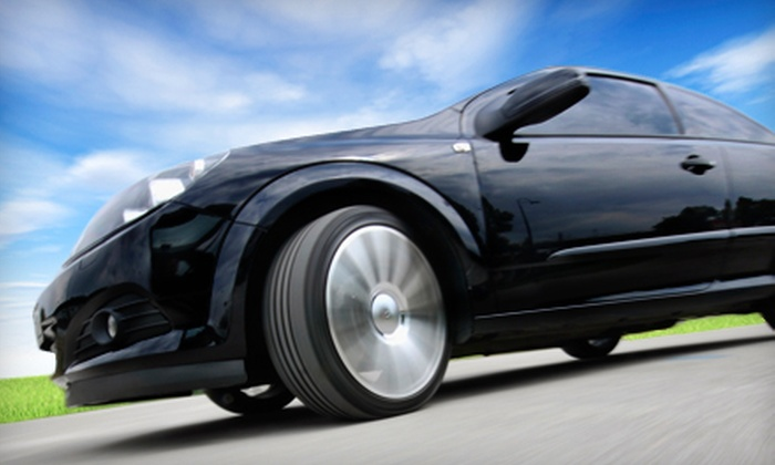 Startronics - Mid-City: Premium or Ceramic Auto-Glass Tinting at Startronics in Santa Monica (Up to 57% Off)