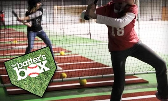 The Batter's Box - Pleasant Hill: $20 for One-Hour Practice-Tunnel Weekend Rental ($40 Value) or $30 for 50-Token Batting-Cage Punch Card (Up to $75 Value) at Batter's Box in Pleasant Hill