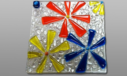 $22 for a 90-Minute Beginner Glass-Fusing Class at Clay Casa ($45 Value). 14 Dates Available.
