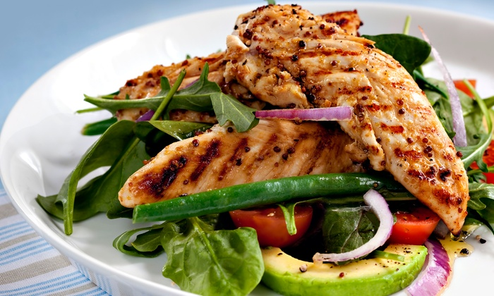 World Gardens Cafe: Five or 10 Days of Prepared Meals from World Gardens Cafe (53% Off)