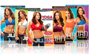 Jillian Michaels DVD Workout Collection (6-Pack)