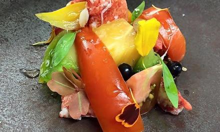 Menu autour de 8 plats surprises par le chef Hervé Rodriguez pour 2 convives à 159 € au restaurant étoilé MaSa