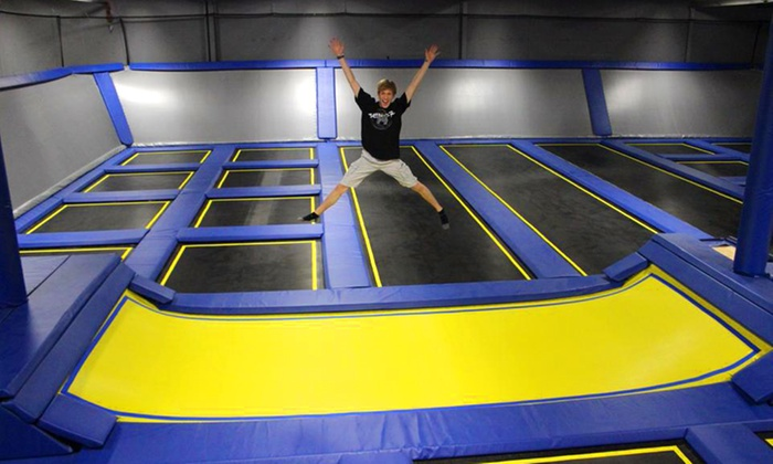 Springs Trampoline Park - Colorado Springs: Two Hours of Jump Time for Four or Birthday Party for Up to 12 at Springs Trampoline Park (Up to 67% Off)