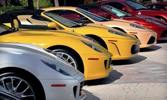 Festivals of Speed - The Ritz-Carlton Orlando, Grande Lakes: $10 for Festivals of Speed Outing for Two on Sunday, December 2, at The Ritz-Carlton Orlando, Grande Lakes ($20 Value)