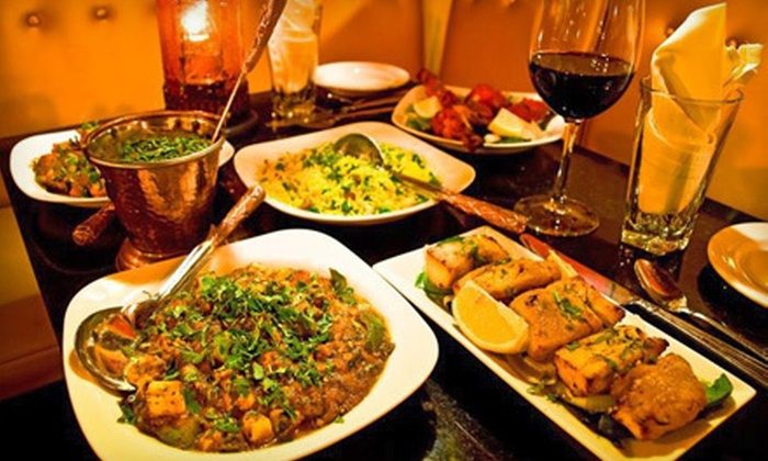 Little India - Denver: Indian Cuisine and Drinks for Dinner at Little India (Half Off). Two Options Available.