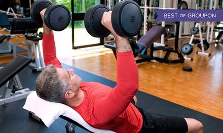 Karnet na siłownię i fitness: open dla osób 55+ (54,99 zł) miesięczny za 79,99 zł i więcej w Eurofitness