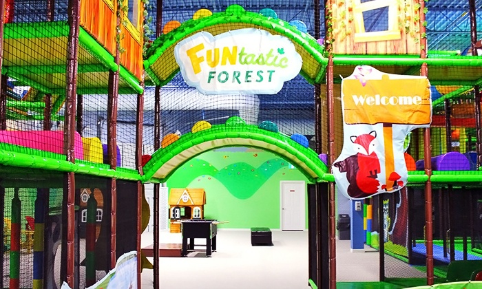 Funtastic FOREST - FUNtastic FOREST: Admission and Soft Drinks for One, Two, or Three at Funtastic FOREST (Up to 58% Off)