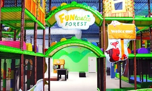 FUNtastic FOREST: Admission and Soft Drinks for One or Two at FUNtastic FOREST (Up to 57% Off)