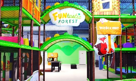 Admission and Soft Drinks for One, Two, or Three at Funtastic FOREST (Up to 58% Off)
