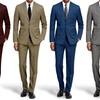 Braveman Slim Fit Suits with Free Tie & Dress Socks