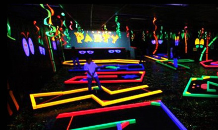 Two, Four, or Six Rounds of Mini Golf at Lights Off Golf (Up to 56% Off)