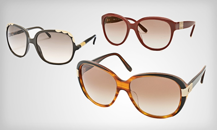 Chloé Women's Sunglasses: $79.99 for Chloé Women's Sunglasses ($355 List Price). 21 Options Available. Free Shipping and Free Returns.