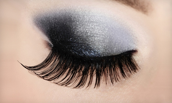 Ultimate Lash and Brow - Gaslamp: Set of Petite or Queen Eyelash Extensions at Ultimate Lash and Brow (Half Off)