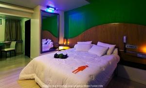 Motel Forest Hills: Motel Forest Hills: 2 horas em suíte Super Luxo ou apartamento (opção de jantar com vinho ou espumante)